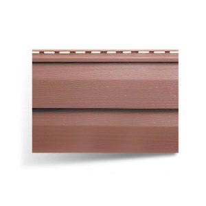 Сайдингг акриловый АЛЬТАПРОФИЛЬ Красно-коричневый 3,66м