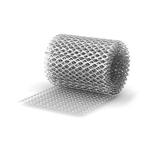 Сетка просечно вытяжная ячейка 40х17мм(1х10м)