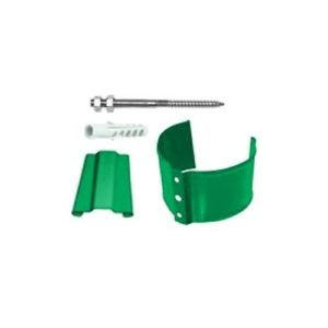 Кронштейн трубы (на кирпич) 90мм GRAND LINE PE6005 зеленый
