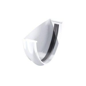 Заглушка желоба ТехноНиколь ПВХ, белый