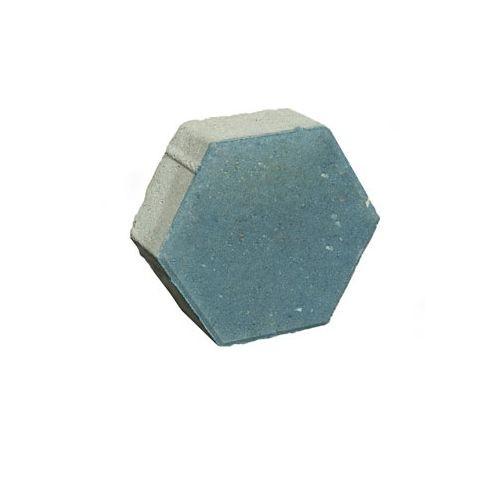 Плита тротуарная бетонная Ф14.6 Шестигранная серая