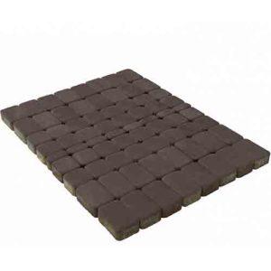 Плитка тротуарная Braer Классико коричневый 60мм
