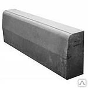 Камень бордюрный Braer 1000х200х80мм. песочный