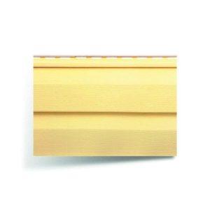 Сайдинг виниловый АЛЬТАПРОФИЛЬ желтый