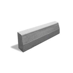 Камень дорожный бордюрный Б-1 1000х300х150 мм. серый