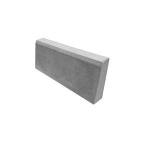 Камень бордюрный бетонный БР 500х200х80мм. серый