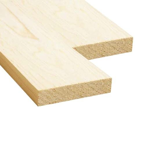 Доска обрезная (Ель, сосна) 25x100x4000 - 1 сорт