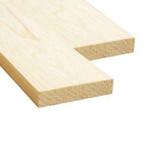 Доска обрезная (Ель, сосна) 25x100x2000 - 1 сорт