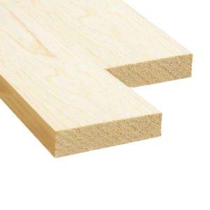 Доска обрезная (Ель, сосна) 32x150x6000 - 1 сорт