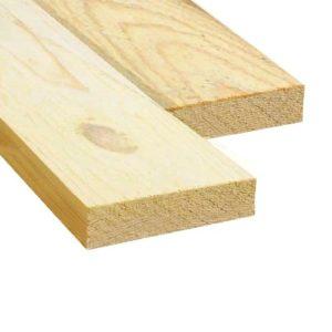 Доска обрезная (Ель, сосна) 25x100x6000 - 3 сорт