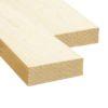 Доска обрезная (Ель, сосна) 50x200x4000 - 1 сорт