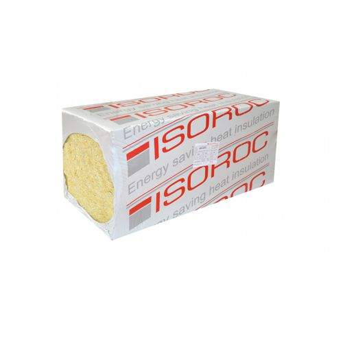 Утеплитель Изорок Изолайт (пл.50) (1000х500х100мм.) 2кв.м./0,2 куб.м.