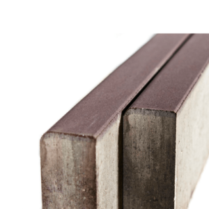 Камень бордюрный Braer 1000х200х80мм. коричневый