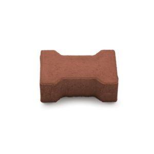 Плита тротуарная бетонная Катушка 1Ф7.7 красная