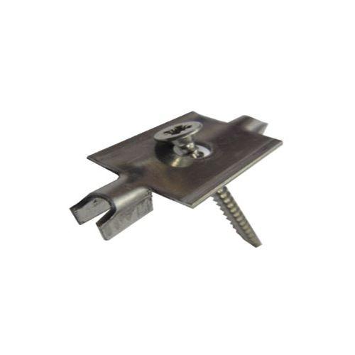 Комплект монтажный для террасной доски, клипса 146 1 саморез (1 уп.-20комп.)