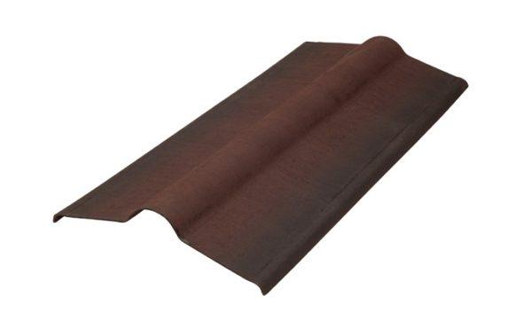 Конек коричневый Черепица Ондулин