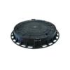 Люк пластиковый ЛПК D-730 (черный) 485