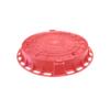 Люк пластиковый ЛПК D-730 (красный) 509