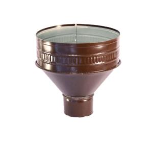 Воронка водосборная 100мм RAL 8017 коричневый
