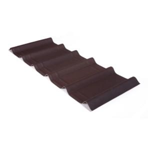 Черепица ОНДУВИЛЛА коричневый (400мм.х1060мм.)