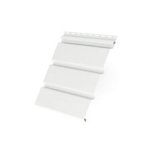 Соффит T4 без перфорации 3,0*0,305 Grand Line белый