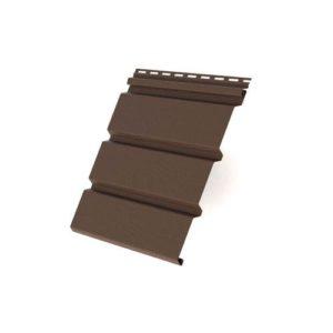 Соффит T4 без перфорации 3,0*0,305 Grand Line коричневый