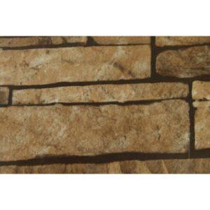 Металлочерепица камея 0,45 Print Twincolor Sand Stone камень песчанник