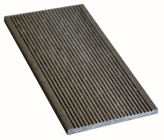 Торцева планка 130 мм серый
