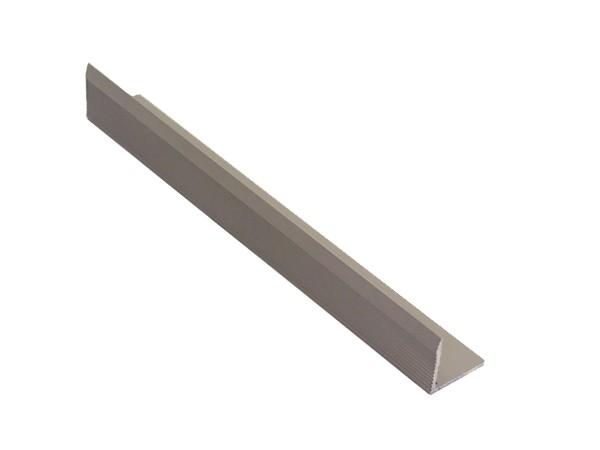 Уголок алюминиевый 30х30 мм серый