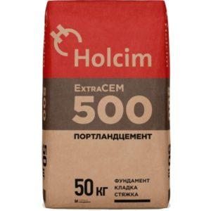 Цемент Holcim ExtraCEM М500 Д20 50 кг.