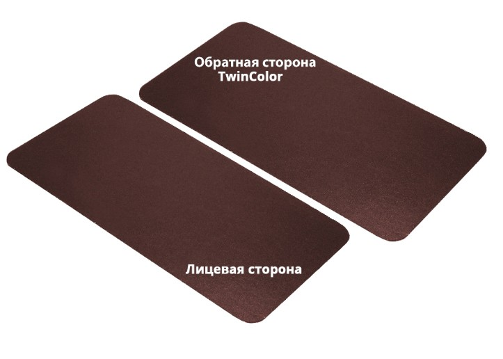 Twin Color Grand Line Velur металлочерепица Kvinta plus