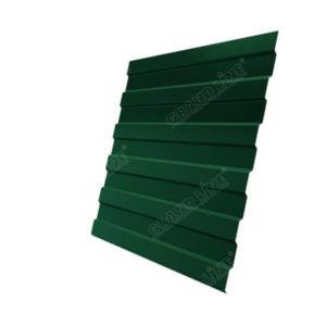 Профнастил С8А Дачный PE RAL 6005 зеленый мох