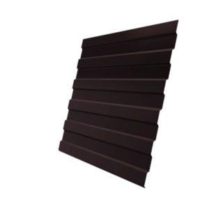 Профнастил С8А Дачный PE RAL 8017 шоколад