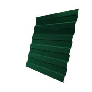 Профнастил С8А 0,45 PE с пленкой RAL 6005 зеленый мох