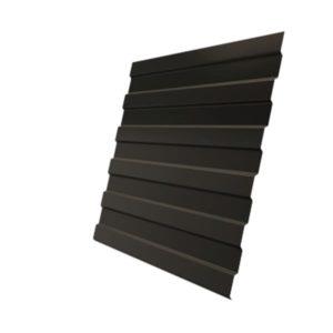 Профнастил С8А 0,45 PE RR 32 темно-коричневый