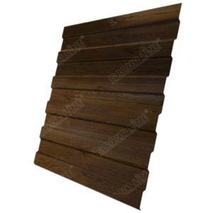 Профнастил С8А 0,45 Print-Double Antique Wood