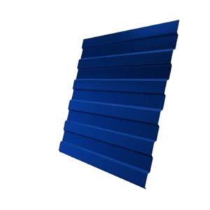 Профнастил С8А 0,5 Satin с пленкой RAL 5005 сигнальный синий
