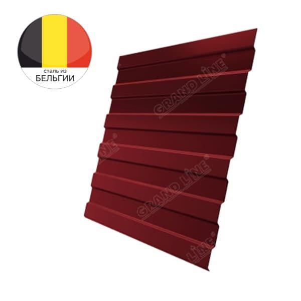 Профнастил С8А GL 0,5 Atlas RAL 3011 коричнево-красный