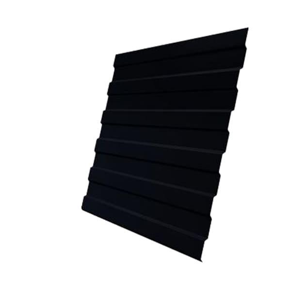 Профнастил С8А GL 0,5 Drap RAL 9005 черный