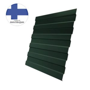 Профнастил С8А GL 0,5 GreenCoat Pural Matt RR 11 темно-зеленый (RAL 6020 хромовая зелень)