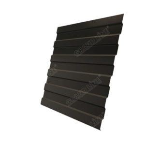 Профнастил С8А GL 0,5 Polydexter RR 32 темно-коричневый