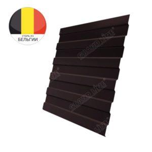 Профнастил С8А GL 0,5 Quarzit RAL 8017 шоколад Metallic