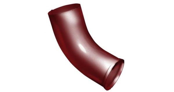Колено стока 90 мм RAL 3011 коричнево-красный