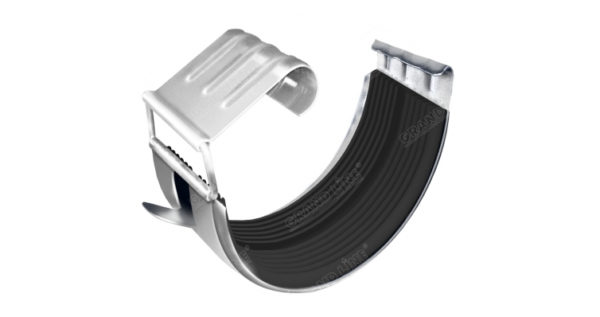 Соединитель желоба Optima 125мм RAL 9003