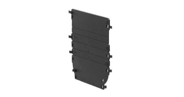 Торцевая заглушка универсальная для лотка водоотводного Gidrolica Standart/Standart Plus DN100, пластик.
