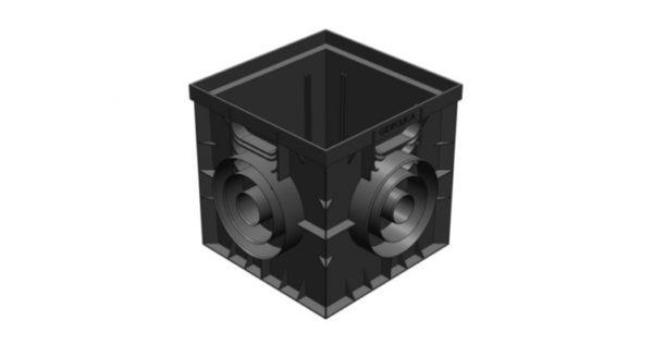 Дождеприемник Gidrolica Point ДП-30.30 - пластиковый универсальный