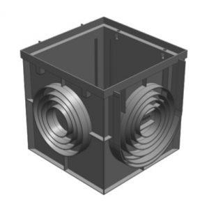 Дождеприемник Gidrolica Point ДП-20.20 – пластиковый