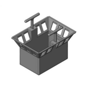 Корзина для дождеприёмника Gidrolica Point ДП-20.20 – пластиковая