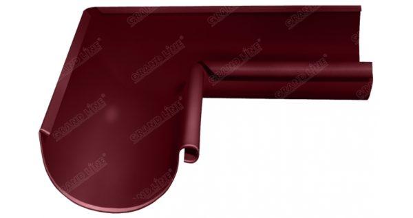 Угол желоба внутренний Optima 90 гр 125мм RAL 3005 красное вино