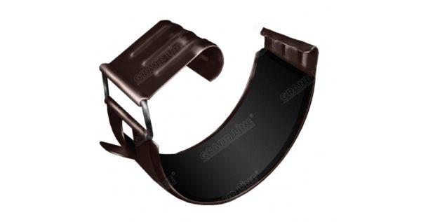 Соединитель желоба Optima 125мм RR 32 темно-коричневый